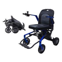 Luz de voo ar 20kg Potência Dobrável cadeira de rodas Eléctrica