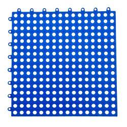 Interverrouillage de PVC Tuiles de plancher antidérapant vinyle en matériau plastique Tapis de bain