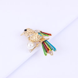 Корейский Brooch популярные новые высоты птичьего полета Воробьевых глотать Brooch