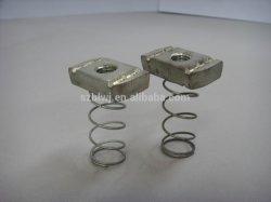 مسامير معدنية لفائف القناة الفولاذية صامولة زنبركية