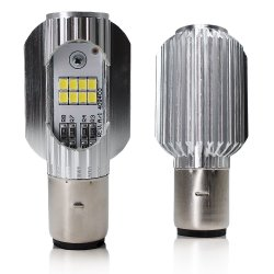 LED-koplamp voor motorfiets met LED-lamp H4 LED-balklamp H6 LED-lichtbalk voor terreinrijden 8000 lm