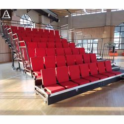 Hersteller-Innenstadion-bewegliche Gymnastik-Haupttribüne-einziehbare Zuschauertribünen