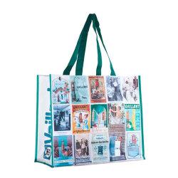 GRS GOTS Oekotex 100 OEM Produktion recycelbare PP gewebte Tasche Mit Laminierung