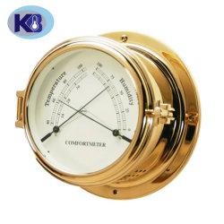 Termómetro de Náutica de latão de melhor qualidade e higrómetro Diam 150mm