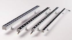 36W 1m 1000mm RGB/RGBW LED 벽 와셔 DMX 컨트롤 픽셀 LED가 있는 실외용 조명 프로젝트