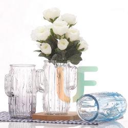 Bunter Glasvase für Ausgangs-und Garten-Dekoration-Tabletop Vasen-Hochzeits-Fest-Vase