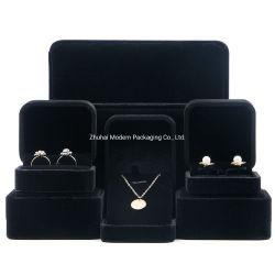 Velvet/tecidos/Anel brincos de papel/Caixa Bracelete/ Dom Embalagem Jóias