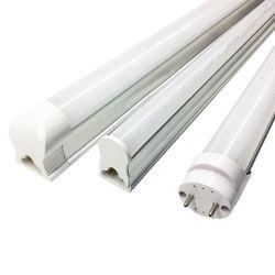기본 제공 현대식 LED 튜브 조명 2년 보증 T8 슈퍼마켓 오피스용 LED 튜브 1200mm 20W 25W 4ft 2700-10000K 호텔