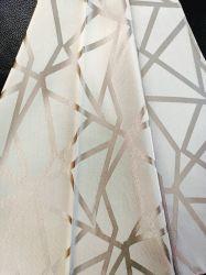 Preço baixo com um belo design de 100% poliéster Jacquard Cortina Tecido