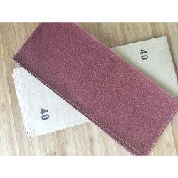 9*3.6′ ′ /9*11′ ′ oxyde d'aluminium/carbure de silicium sec ou humide Papiers de sandpapers pour meubles en bois métal