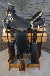 ブルーレイクシルバープレミアムカウハイドレザー・ウェスタン・プレジャー・ショー Saddle レザー( Saddle Leather )西洋 Saddle Leather Headstall+ Breast Collar (レザーの革 + rein