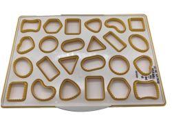 أوكازيون ساخنة من قبل بنفسك قطع متنوعة من كوكي الشكل مع الحزمة