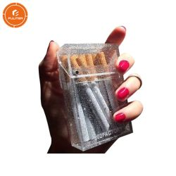 방수 투명한 호화스러운 전시 플렉시 유리 20 팩을%s 아크릴 담배 케이스