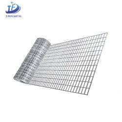 حلفنة مربع سلك الحديد الملحوم الشبكة في الأسطوانات