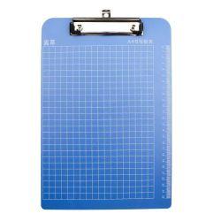파란색 용지 2 포켓 폴더(핀 50 팩 매트 포함) 3개의 금속 공 고정 장치 클립이 있는 텍스처
