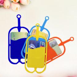 حقيبة سيليكون ناعمة ذات علبة هيبريد محمول عالمية مع حبل قصير طويل حامل بطاقة Pounch للهاتف الذكي Black Berry