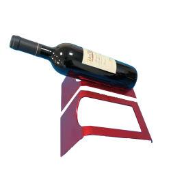 حامل نبيذ من الألومنيوم الحلو مخصص لرف معالجة الألومنيوم