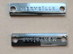 حقيبة معدنية كلاسيكية من الزنك لولي نوع من الكسارات المعدنية نوع خمر من الكسارات ملحقات الأجهزة