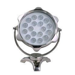 Der RGB-12V 24V SS LED heller Punkt-Unterwasserlicht Swimmingpool-Teich-Brunnen-Dekoration-Beleuchtung-LED für Garten