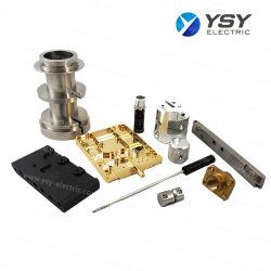 Peça de metal personalizado, parte das máquinas de alumínio