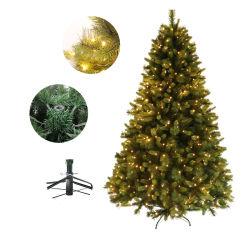 El lujo de 0,5 m 1m 3m 2,1 millones de hojas mixtas árbol decorativo de la Navidad con LED blanco cálido