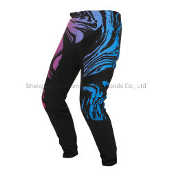 2021 Nuevo diseño MTB Pants hecho personalizado bicicleta de montaña Pantalones MBX pantalones para carreras de bicicletas al aire libre