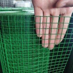 Китай поставщиком зеленый цвет 1/2 x 1/2 с покрытием из ПВХ сварной проволочной сеткой Шри-Ланка