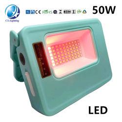 工場価格50Wの洪水ライト太陽多機能の携帯用作業ランプ
