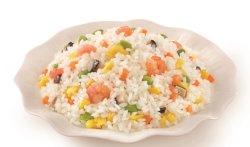 Crevettes congelées Stir-Fried riz nourriture chinoise