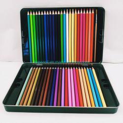مجموعة مستلزمات فن القرطاسية المدرسية من 48 قلم ملون مائي في القلم الملون Tin Box