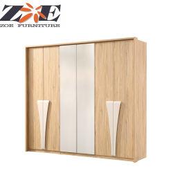 Home Quartos Mobiliário moderno mobiliário brilhante de alta 6-D roupeiro