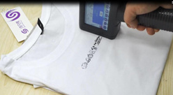 [بنتسي] يدويّة [إينكجت برينتر] علامة تجاريّة نص طبعة على ملابس & [ت-شيرت]