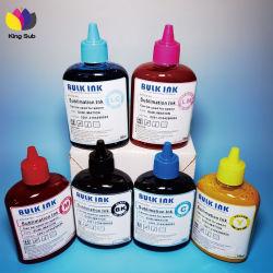 Tinta de impressão digital de transferência de calor 100ml de sublimação de tinta para impressora Epson Sublimar Tina