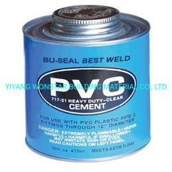 Tubo de PVC transparente de alta viscosidad cemento disolvente CPVC de pegamento