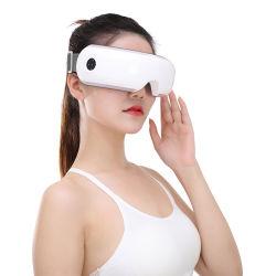 熱及び音波の振動を用いる携帯用再充電可能なしわの取り外しの美装置目の美の心配のマッサージャー