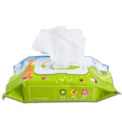 80PCS/Bag che sterilizza il tessuto bagnato del bambino a gettare portatile bagnato dei Wipes