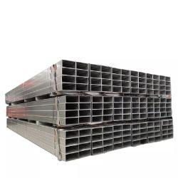A36/Q235/50*25/20X30/Square/rectangulaire ou SHS/ERS/section creuse/Tôles laminées à froid/laminés à chaud/ Noir/pre/galvanisé à chaud/gi Tube en acier