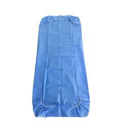 سرير غير معقم مقاوم للماء غير مزوّد بورقة سرير مرنة يمكن التخلص منها تغطية للمستشفى