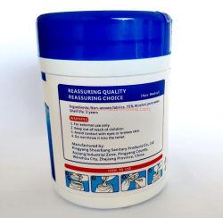 FDA OTC van Ce de Niet-geweven Materiële Alcohol Vrije Antibacteriële Nat afveegt veegt af