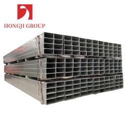 La Plaza de acero de la barra de hierro de 20X20 40X40 40X80 50X100 de cuerpos huecos estructural HDG SHS
