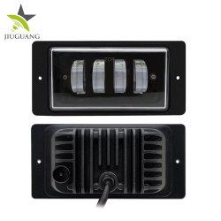 طقم مصابيح مصد مصابيح الضباب Lada 2110 -2117 بقوة 30 واط، 6.1 بوصة مصابيح الضباب LED في المربع الأمامي