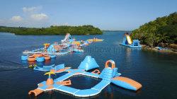 Heißer Verkaufs-aufblasbare sich hin- und herbewegende Wasser-Park-Spielwaren für Strand-Seasee