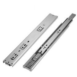 후크 스타일 고품질 3폴드 풀 익스텐션 가구 하드웨어 35/42/45mm 측면 장착 볼 베어링 소프트 클로즈 드로어 슬라이드/러너/드로어 슬라이더