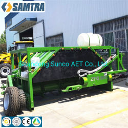 Para España mercado! ! La agricultura orgánica Turner en la elaboración de abono fertilizante