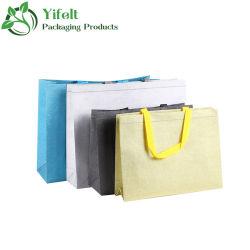 OEM/ODM impresas personalizadas Bolsas de regalos Bolsa no tejido bolsa de ropa de tela Nonwoven