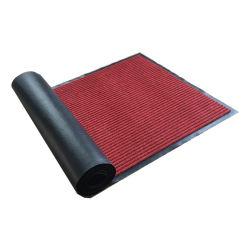 Полиэстер двойной полосы приветствуем элеватора соломы коврик для использования вне помещений вход напольный коврик