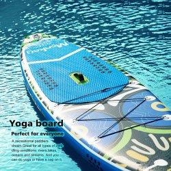 Almofada insuflável de EVA de PVC estável Stand up Paddle Board