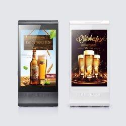 Fyd-868p 대중음식점 호텔 바를 위해 선수를 광고하는 새로운 아이디어 유니버설 4 USB 충전기 디지털 8 인치 LCD 테이블 대