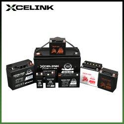 Xcelink 12V7ah SMF(Sealed Maintenance Free) 공장 활성화 나노 젤 납산 충전식 오토바이 배터리