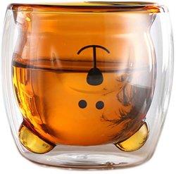 Netter Cup-Bären-Tee-Cup-Milch-Kaffee-Paar-Glascup-lustiger Valentinstag-kreatives romantisches Geburtstag-Geschenk für Sie